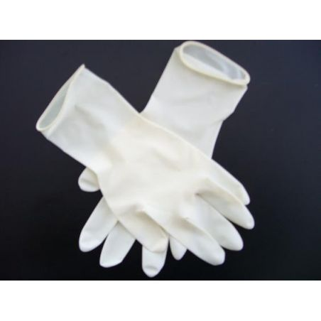 Latex Gloves - powdered - Size large - box