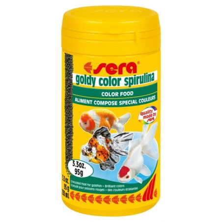sera goldy color spirulina - 3.3 oz