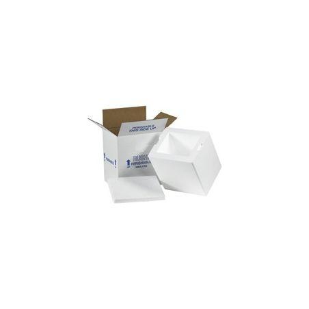 Single Styrofoam Box - 17 x 17  x 9