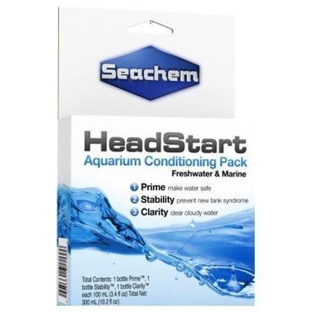 Seachem Head Start Aquarium Conditioner Pack